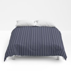 Grey stripes Comforters