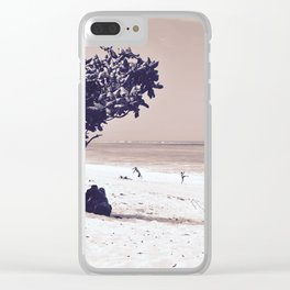 . 4 dot Clear iPhone Case
