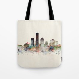 milwaukee wisconsin skyline Tote Bag