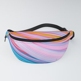 Strain Wave. Abstract Fanny Pack
