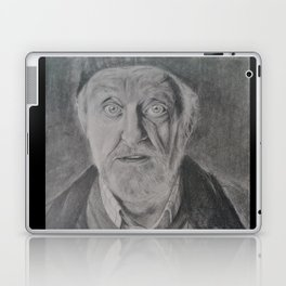 Wilfred Mott, Donna Noble's grandad from Doctor Who Laptop & iPad Skin