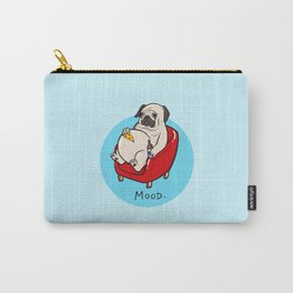 Pug Mood Carry-All Pouch