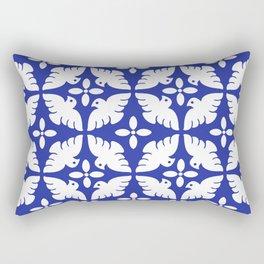 Dove Pattern Rectangular Pillow