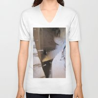 escher V-neck T-shirts featuring Escher 2 by KMZphoto