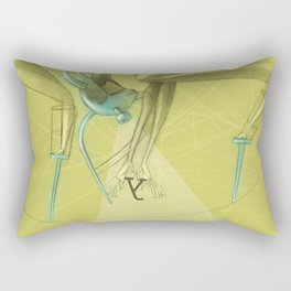 De los vuelos | Of flights { n°_ 003 } Rectangular Pillow
