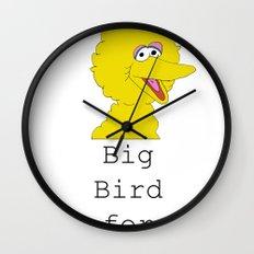 Big Bird for Obama!  Wall Clock
