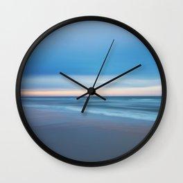 Painted Beach 1 Wall Clock
