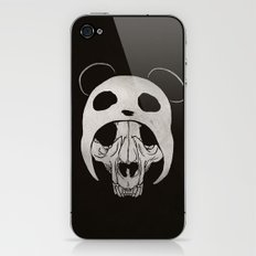 Panda Skull iPhone & iPod Skin