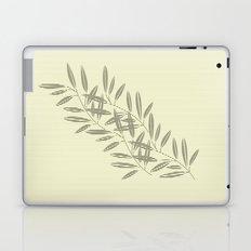 Linen Leaves Laptop & iPad Skin