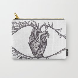 One must look with the heart Carry-All Pouch