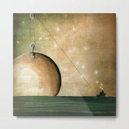 A Solar System Metal Print