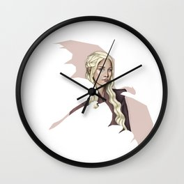 Dragon Mother ( Mother of Dragons ) Wall Clock