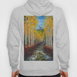 Nelly Creek painting of Uncompahgre National Forest Hoody