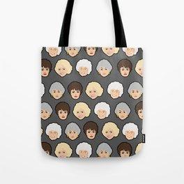 Golden Girls Grey Pop Art Tote Bag