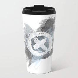 Painted cross Metal Travel Mug