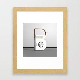 Minimal Letter B Framed Art Print
