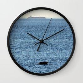 Seal and Ship Wall Clock
