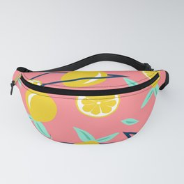 Lemons party #society6 #decor #buyart Fanny Pack