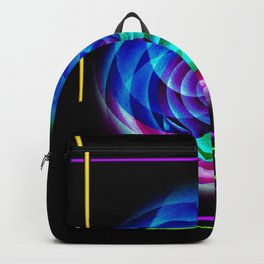 Abstract in perfection Backpack