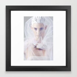 The Fashion Body Framed Art Print