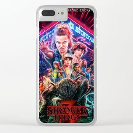 Stranger Thing 3 Clear iPhone Case
