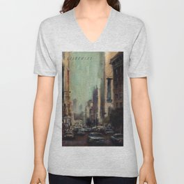 Life's Just a Cocktail Party on the Street Unisex V-Neck