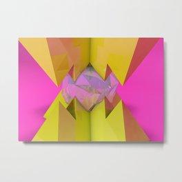 Crystal Crusher Metal Print