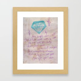 Alicia Framed Art Print