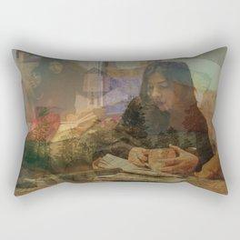 A Beautiful Imagination, No. 59 Rectangular Pillow