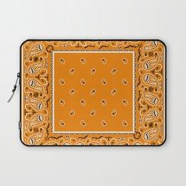 Citrus Orange Bandana Laptop Sleeve