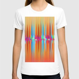 Seismic Shift Fiery Clouds T-shirt