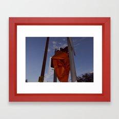 A Sign Framed Art Print