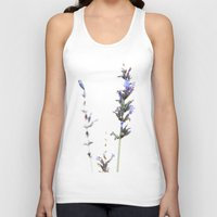lavender Tank Tops featuring Lavender by Renee Ansell