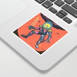 Space Pirate Sticker