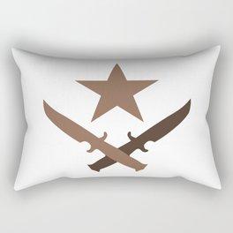 Terrorist Rectangular Pillow