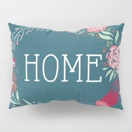 Home Wreath Pillow Sham