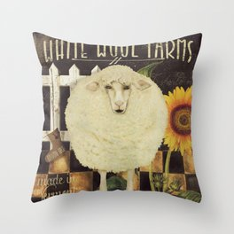 Vermont Farms Throw Pillow
