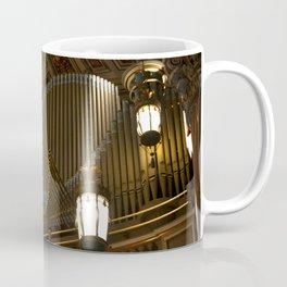 The Organ across the Altar Coffee Mug
