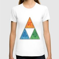 triforce T-shirts featuring Zelda Triforce by Bradley Bailey
