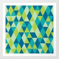 Triangle 1.2 Art Print