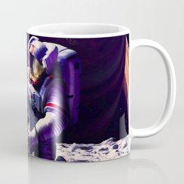 Synthwave Space #23: Astronaut and sandbox Coffee Mug