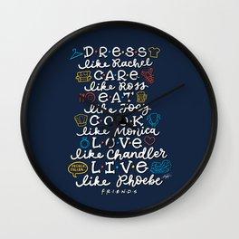 FRIENDS TV Characters Wall Clock