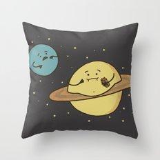 Faturn Throw Pillow