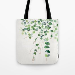 Eucalyptus Watercolor Tote Bag