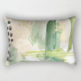 Mossy Design Rectangular Pillow