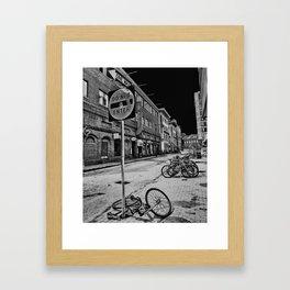 harvard sq Framed Art Print