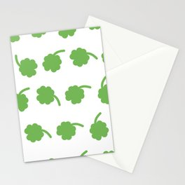 clover patter Stationery Cards