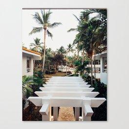 Grand Paradise View Canvas Print