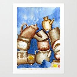 Loza Art Print