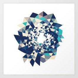 Datadoodle Burst Art Print